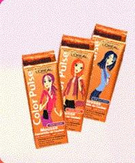 commencer par une coloration temporaire pour faire des essais avant de te lancer dans des teintures permanentes - Coloration Temporaire Cheveux